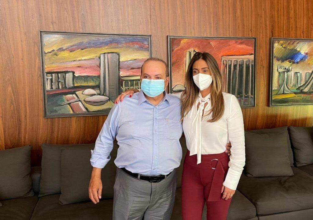 Ibaneis e Flávia Arruda sinalizam aliança para 2022